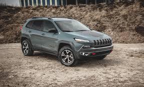 jeep cherokee green 2014 jeep cherokee trailhawk v 6 test u2013 review u2013 car and driver