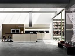 idea kitchen modern italian kitchen with concealed shelves and smart technology
