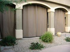 outdoor patio arizona misting drapes patio curtains in phoenix
