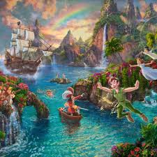 thomas kinkade official site of the painter of light