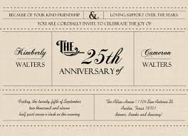 50 anniversary invitations template best template collection