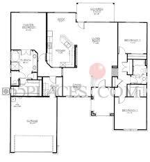 Texas Floor Plans by Bowie Floorplan 2145 Sq Ft Sun City Texas 55places Com