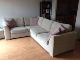 Corner Sofa In Living Room - fabric corner sofas furniture ebay
