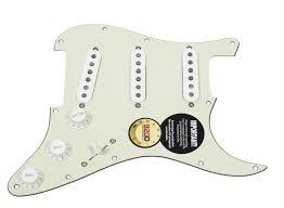 920d custom yngwie malmsteen strat loaded pickguard dimarzio hs 3