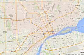 Kalamazoo Michigan Map by Detroit Michigan Map