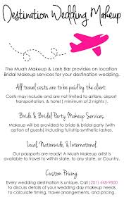 traveling makeup artist destination wedding makeup muah makeup and lash bar westwood
