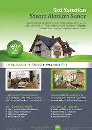real estate brochure template by grafilker graphicriver