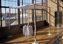 chuppah rental new rental item wood chuppah