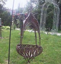 unbranded metal garden baskets pots u0026 window boxes ebay