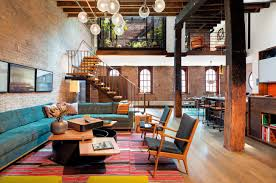 industrial loft in tribeca with retractable glass roof pertaining