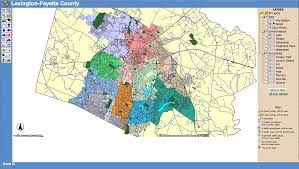 Lexington Zip Code Map Maps From Top To Bottom
