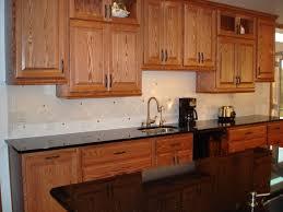 Maple Kitchen Cabinets With Granite Countertops Granite Countertop Dressing Up Kitchen Cabinets Backsplash Glass