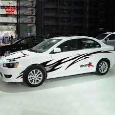 dream r racing design car body styling stickers car side door