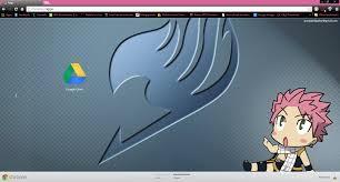 themes google chrome fairy tail cute fairy tail natsu chrome theme by prasad9323 by prasad9323 on