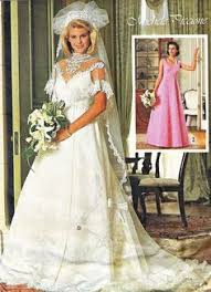 everything from wedding hair to wedding dress except those hideous