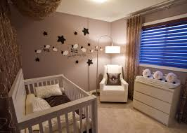 fascinating image of baby nursery room decoration using ligth blue