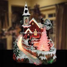 light up christmas village christmas lights decoration
