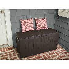Suncast 50 Gallon Patio Bench by Amazon Com Patio Box Storage Deck Outdoor Garden Bench Pool