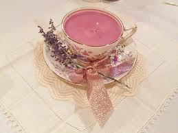 tea cup candles diy teacup candles poor pretty