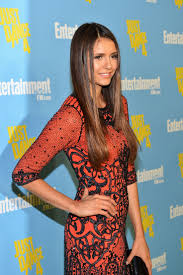 nina dobrev makeup enternment weekly s 6th annual ic con celebration sponsored by just