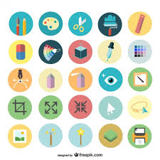 design icons design icons set vector free