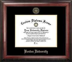 diploma frame boston gold embossed diploma frame sports