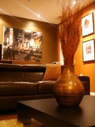 interior orange brown living room inspirations orange blue brown