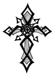 tribal cross classic tattoo designs tattoo love