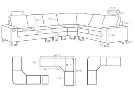 Sectional Sofa Dimensions by Standard Sofa Size Terrific Standard Couch Dimensions Inspire