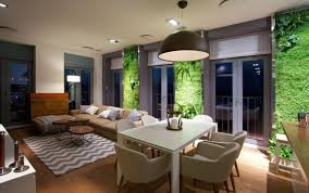 evo apartment with wall gardens by svoya studio