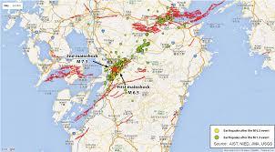 Sea Of Japan Map Mw 7 0 Earthquake Strikes Japan In The Same Region Earth