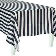 Black And White Table Cloth Black Paper Table Cover Shindigz