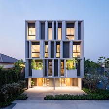 a contemporary 3 storey townhome in bangkok thailand