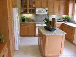 Kitchen Cabinets Light Wood Traditional Light Wood Kitchen Cabinets With White Appliances