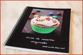 creer un livre de recette de cuisine luxury idée créer livre de
