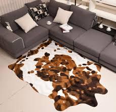 tappeti pelle di mucca imitazione giallo tappeto in pelle di mucca animale tappetino