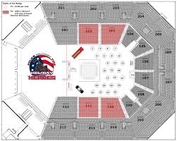 ticketmaster floor plan battle of the badge at bb u0026t arena