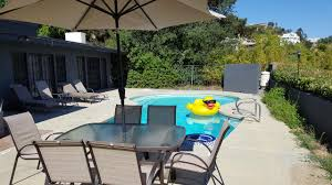 vacation home four bedroom house with pool los angeles ca