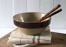 une jatte en cuisine bol mélangeur ancien bol en grès vintage français jatte