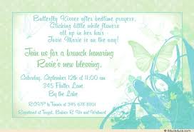 baby brunch invitations butterfly kisses baby shower invitation sweet sentimental