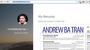 Best Resume Ever Github by Build A Blog With Jekyll And Github Pages Data Journalism At