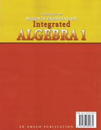 preparing for the regents examination integrated algebra 1
