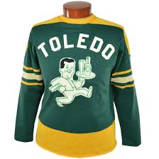 toledo buckeyes authentic hockey sweater ebbets field flannels