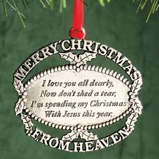 snows catalog engraved merry from heaven ornament