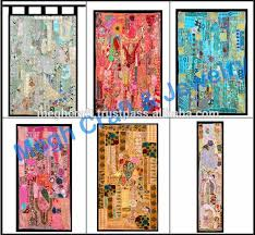 vintage patchwork tapestry home decor tapestry curtain bohemian