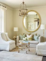 living room mirror 8 ideas to use a round mirror in a large living room