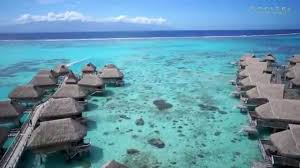 aerial video of sofitel moorea ia ora beach resort youtube