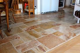 tile floor ideas for kitchen kitchen flooring travertine tile floor designs fabric look
