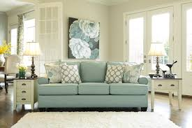 Ashley Furniture Living Room Sets Red Ashley Daystar Seafoam Sofa And Love Dream Rooms Furniture