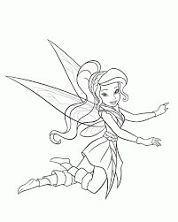 pictures tinkerbell friends coloring